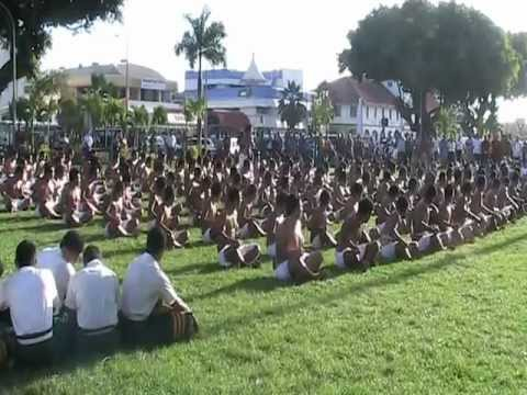 Don Bosco College performing for Sir Graham Henry in Samoa