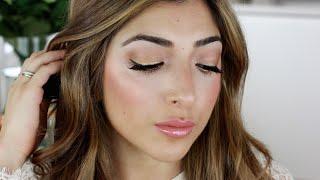 Kim Kardashian Met Gala 2015 Makeup Tutorial - Golden Eyes & Glowing Skin