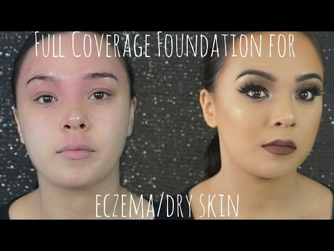 Full coverage makeup for dry skin/eczema    Beauty by Julie