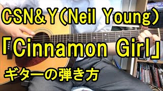 CSN&Y(Neil Young) 「シナモンガールl」の弾き方 Crosby, Stills, Nash...