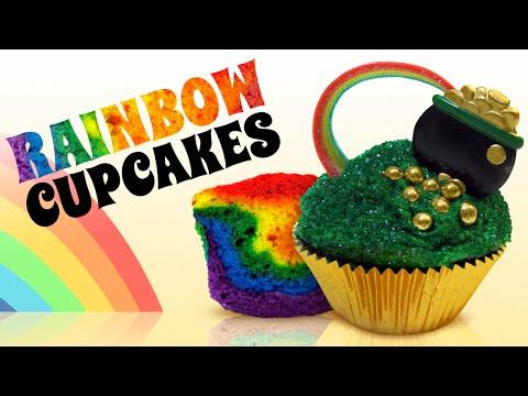 Rainbow Cupcakes and Decorating Ideas