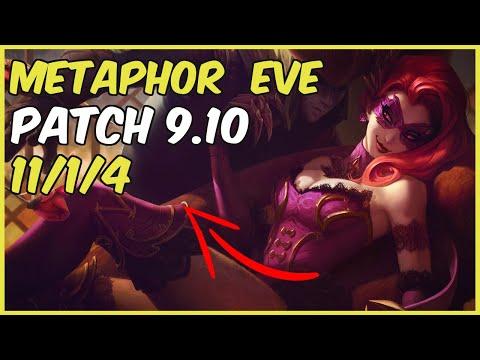 METAPHOR STOMPS IN GRANDMASTER WITH EVELYNN | vs  Ekko Jungle Patch 9 10 NA Ranked