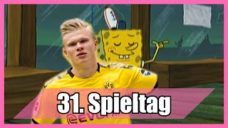 Bundesliga 31. Spieltag portrayed by Spongebob [Deutsch/German]