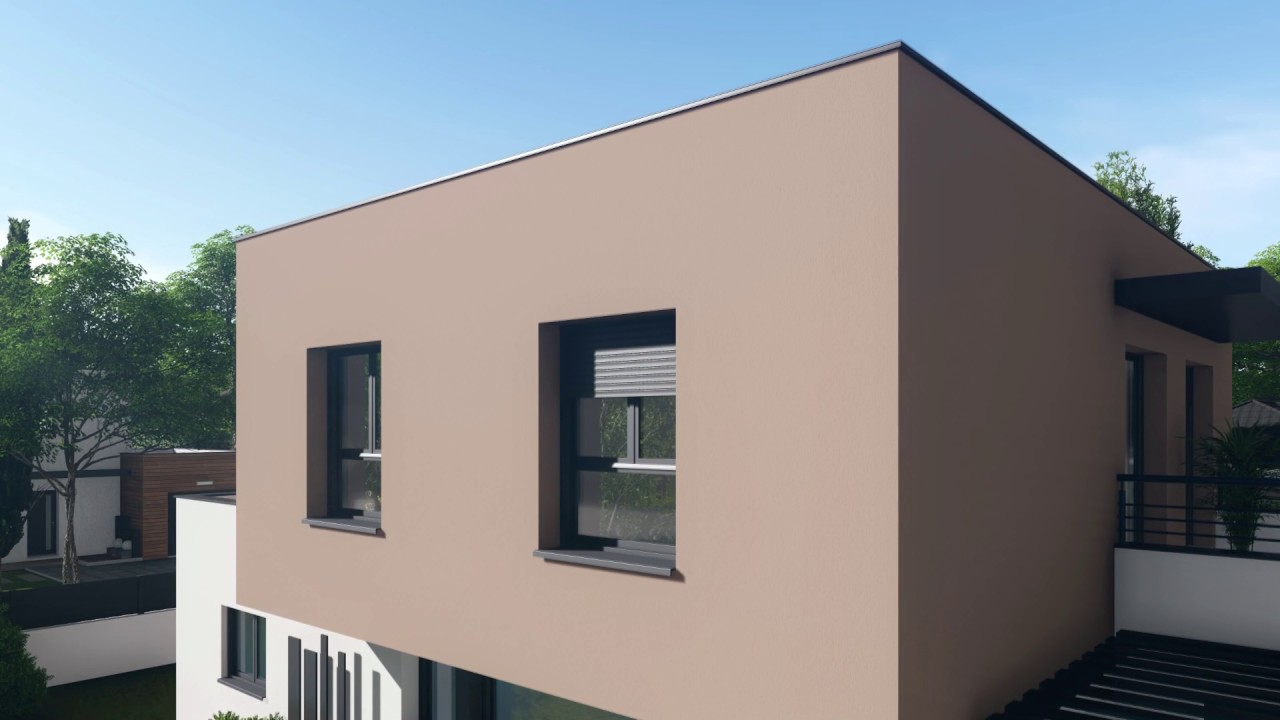 maison contemporaine maisons et chalets des alpes mca. Black Bedroom Furniture Sets. Home Design Ideas
