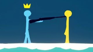 A DUPLA dos PALITOS!!! - Stick Fight