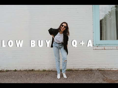 low-buy-q+a-|-answering-your-low-buy-questions-+-tips-to-stop-shopping