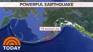 Earthquake In Alaska Triggers Tsunami Warning And Evacuations | TODAY