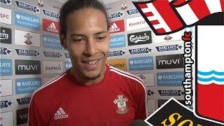 Video Gol Pertandingan Southampton vs Swansea City