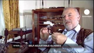 euronews hi-tech - Des lunettes réglables par l'utilisateur