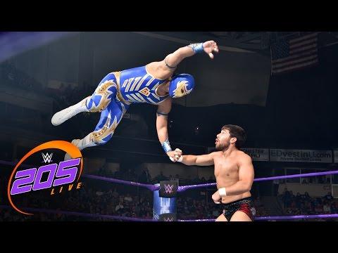 Gran Metalik Vs. Noam Dar: WWE 205 Live, May 16, 2017