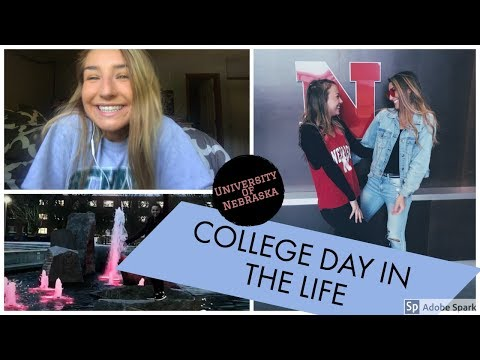 COLLEGE DAY IN THE LIFE - UNL