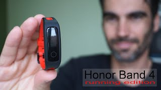 Honor Band 4 Running Edition | review en español