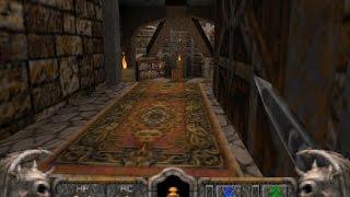3dfx Voodoo 5 6000 AGP - Hexen II - Blackmarsh - Part 1 [Gameplay]