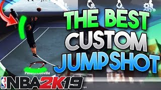 *NEW* BEST JUMPSHOT IN NBA 2K19 AFTER PATCH