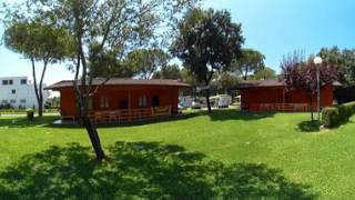 Video 360 dei Bungalow al Villaggio Camping Baia Domizia di Sessa Aurunca, Caserta
