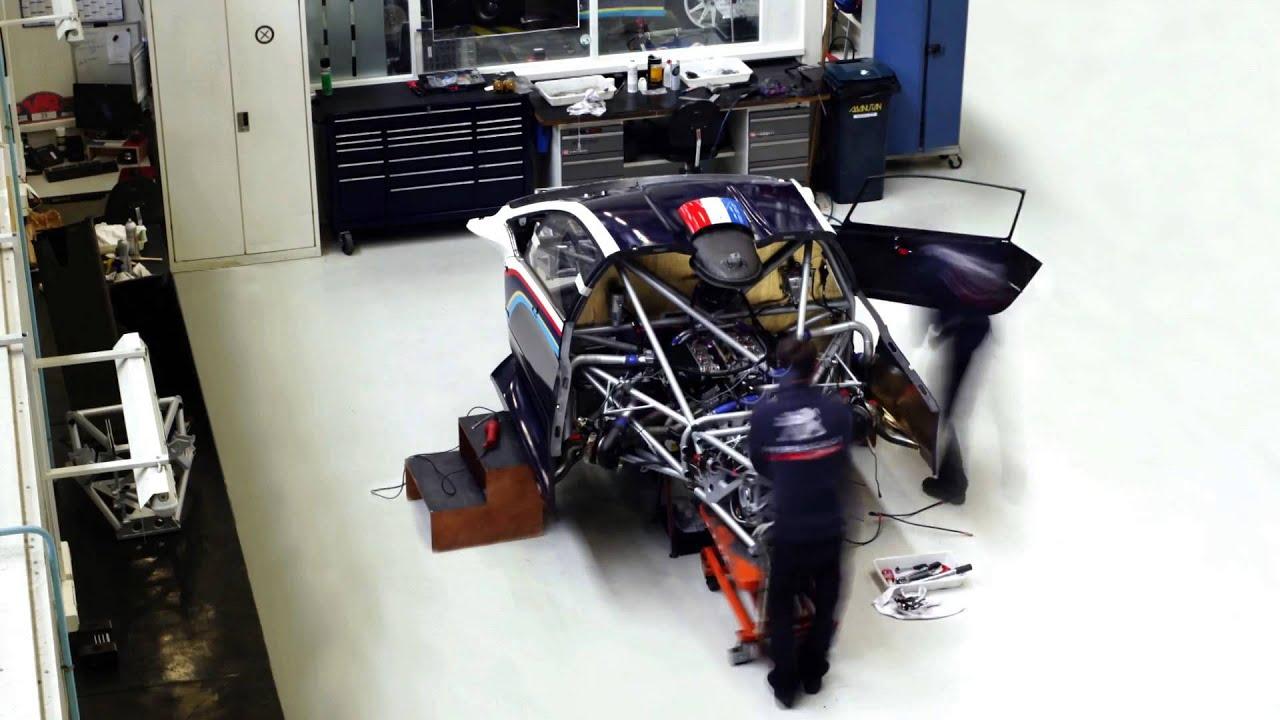 Making Peugeot 208 T16 Pikes Peak Time Lapse