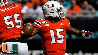 Miami's Jarren Williams Throws Laser TD Pass to Close 1st Half