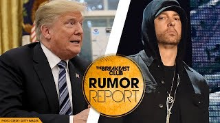Eminem Addresses Backlash from Trump BET Cypher