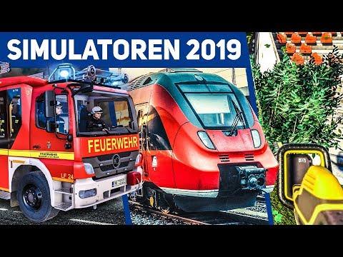 SIMULATOREN 2019: Feuerwehr, U-Bahn, Stadion Und Flug-Simulator - Simulationen 2019 Und 2020! 2/3