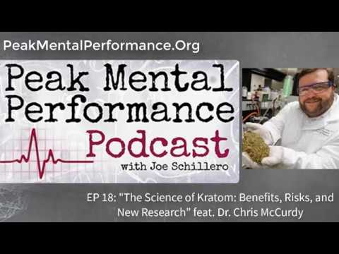 "EP 18: ""The Science of Kratom: Risks, Benefits, & New Research"" feat. Dr. Chris McCurdy"