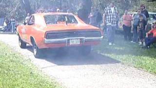 I Beat The General Lee in muffler rappin too