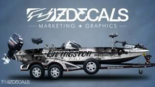 ZDecals Bass Boat Wraps