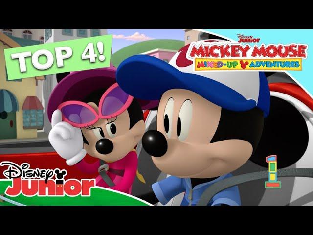 Οι Πιο Διασκεδαστικές Στιγμές   Μίκυ Μάους Τρελοπεριπέτειες   Disney Junior Ελλάδα