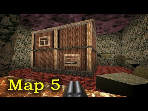 Quake 1 - Map #5 by Vladimir Rybakov