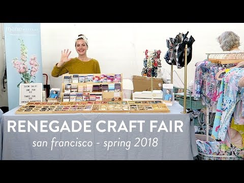 Renegade Craft Fair | San Francisco Spring 2018 | Vlog from a Vendor's Point of View