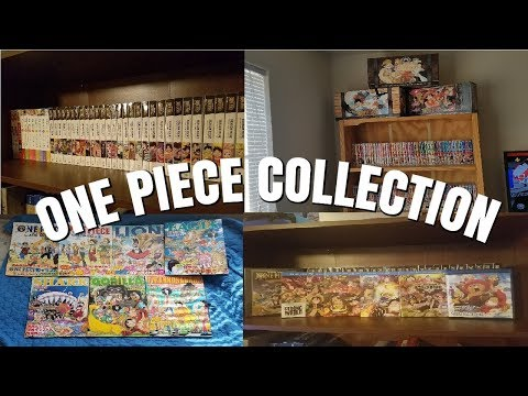 Giant One Piece Collection! (Complete Anime and Manga Set)