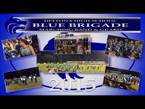 2015 Deltona High School Blue Brigade Marching Band - Stands Tunes