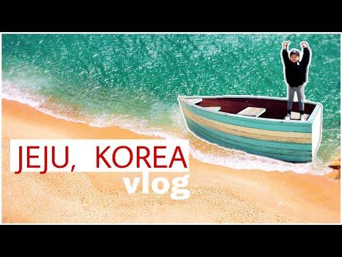 Еда и развлечение острова Jeju/KOREA VLOG/