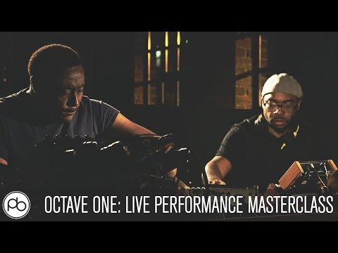 Octave One: Live Perfomance Masterclass