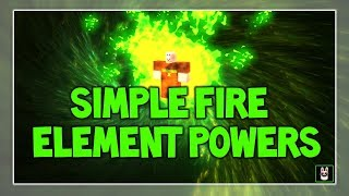Roblox Script Showcase Episode#677/Simple Fire Element Powers