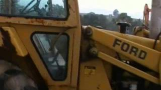 Ford 655A Loader Backhoe For Sale
