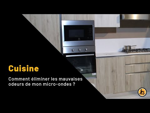liminer les mauvaises odeurs de mon micro ondes youtube. Black Bedroom Furniture Sets. Home Design Ideas