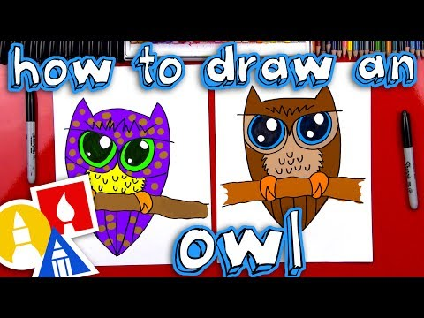 Art Hub For Kids How To Draw An Owl