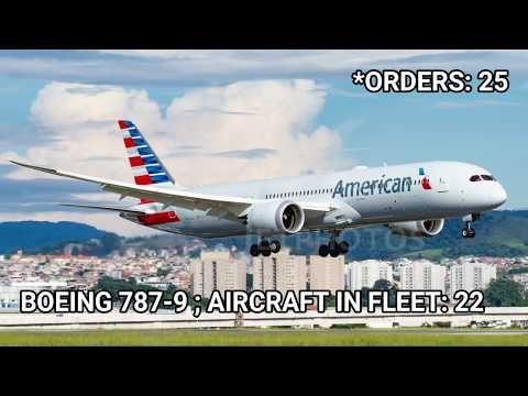 American Airlines Fleet As Of May 2019