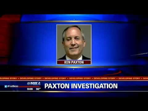 Ken Paxton surrenders on felony fraud charges