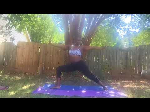 The Wright Work Out with Veda McNeal Wright- Outside Yoga
