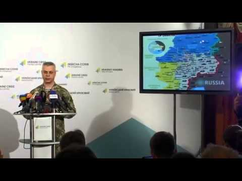 Eastern Ukraine Military operation - ATO - Ukraine Crisis Media Center 16th Feb 2015