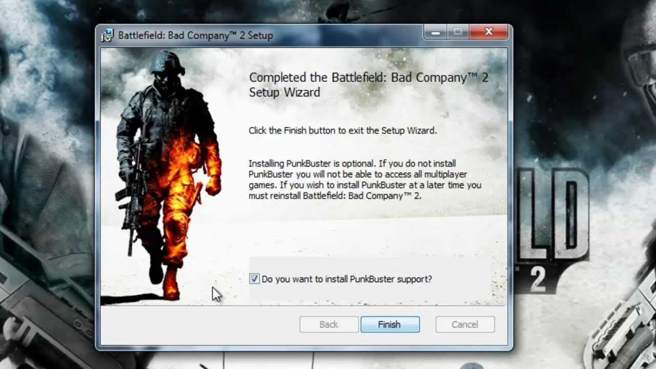 punkbuster pour battlefield bad company 2