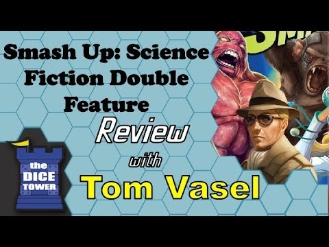 Smash Up: Science Fiction Double Feature Review - with Tom Vasel