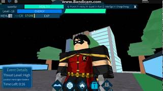 ROBLOX GAMEPLAY/SUPERHERO SMACKDOWN