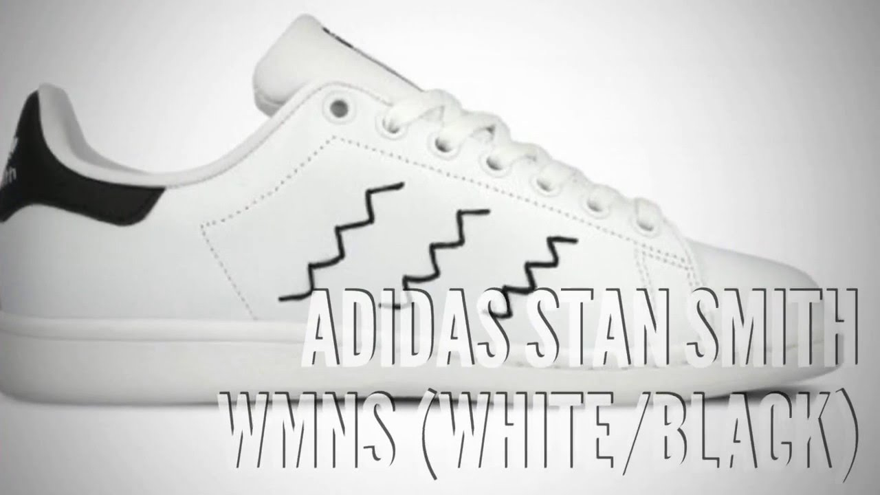 outlet store 44459 72260 ADIDAS STAN SMITH WMNS (WHITE BLACK)   SNEAKERS T
