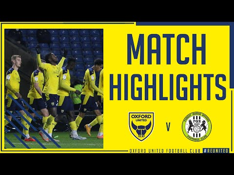 Oxford Utd Forest Green Goals And Highlights