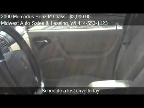 2000 Mercedes-Benz M-Class ML320 - for sale in Milwaukee, WI