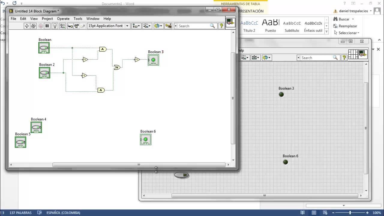 Circuito Xnor : Compuerta nor exclusiva xnor [labview] youtube