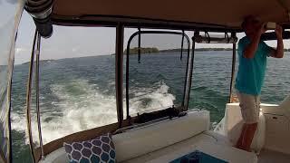Boating Back Through Lake Couchiching - Sit Back Sunday