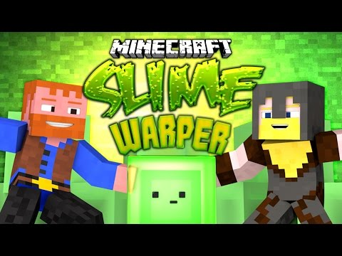 Minecraft ★ SLIME WARPER (Parkour) - Dumb & Dumber